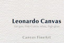 """Leonardo Canvas 390-Bobina de 17""""x12m"""