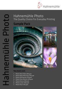 Pacote de amostras Hahnemühle Photo A4