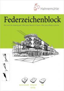 Federzeichenblock-10 fls-A4